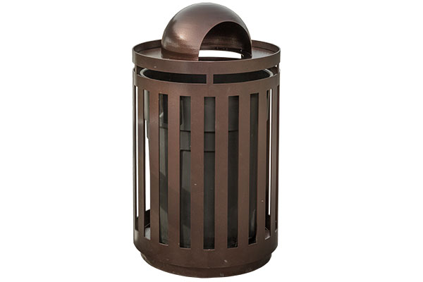 Dome Trash Receptacle