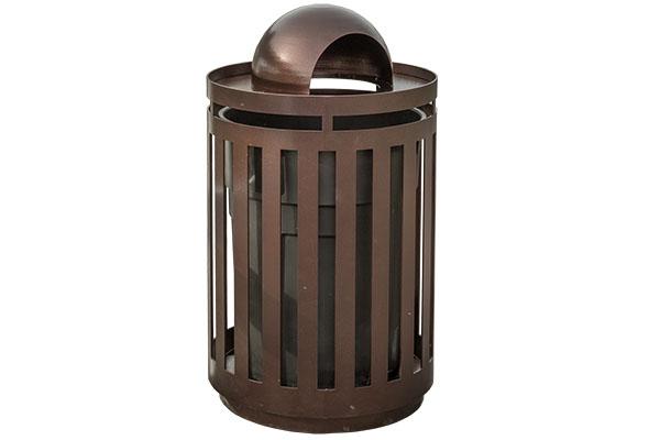 Dome Trash Receptacle