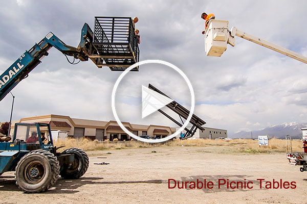 Durable Picnic Table Video