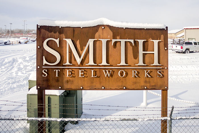 Laser Cut Business Signs Smith Steelworks