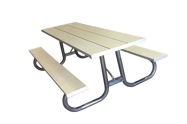 Round Tubed Picnic Tables