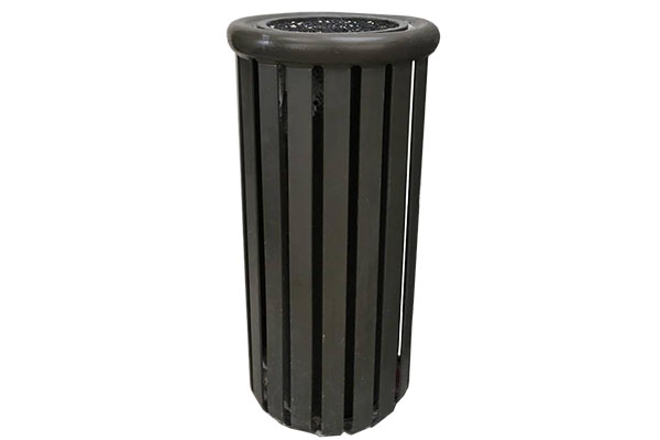 Single Standing Ash Urn Receptacle