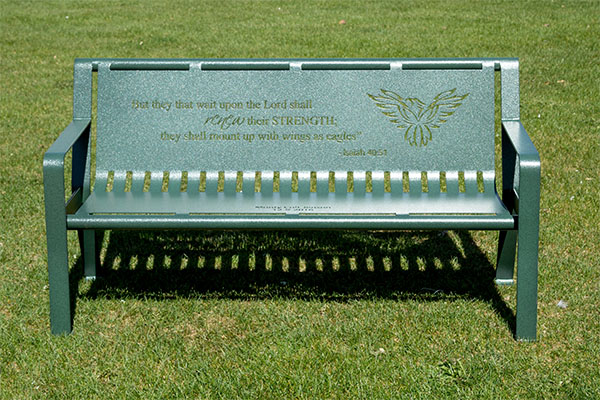 Children's Memorial Bench - Smith Steelworks