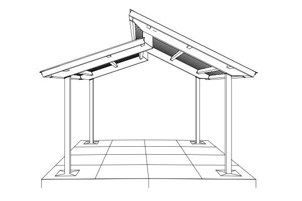 Pavilion manufacturers smith steelworks for Clerestory roof design