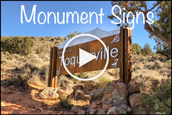 Monument Sign Video