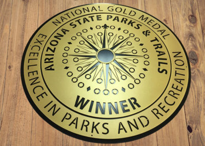 National Gold Medal Sign