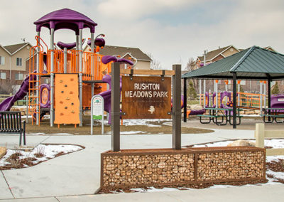 Rushton Park Signs In Utah Valley