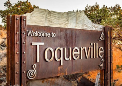 Toquerville Monument Signs