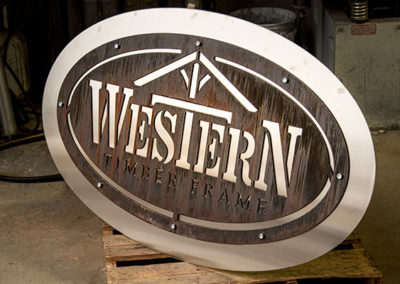 Western Timber Frame Outdoor Signs