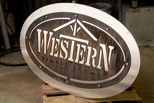 Laser Cut Metal Signs - Smith Steelworks