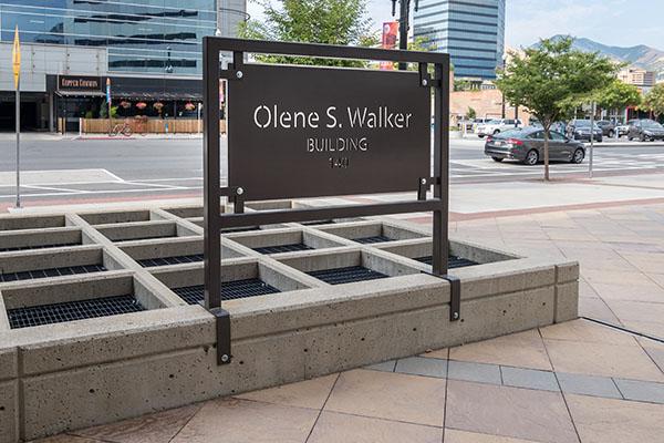 Olene Walker Sign SLC