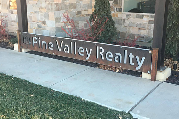 Pine Valley Real Estate Signs