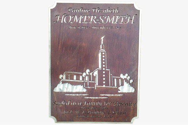 Laser Cut Metal Signs >> Laser Cut Cemetery Signs - Smith Steelworks