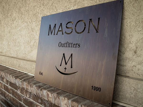 Laser Cut Metal Signs >> Laser Cut Rustic Signs Smith Steelworks