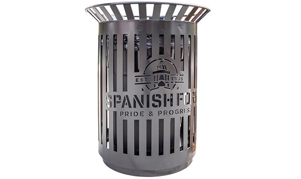 Spanish Fork Trash Receptacles