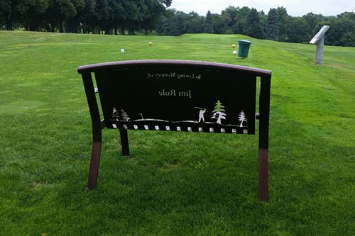 Pet Memorial Benches For Parks