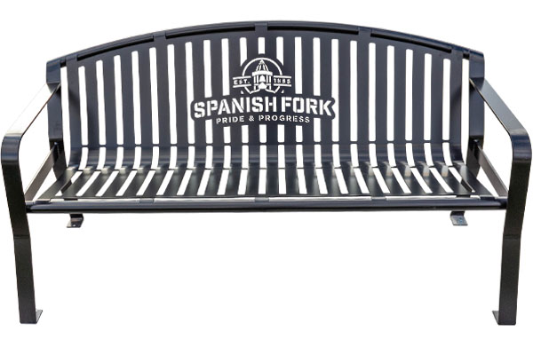Spanish Fork City Park Bench Manufacturers