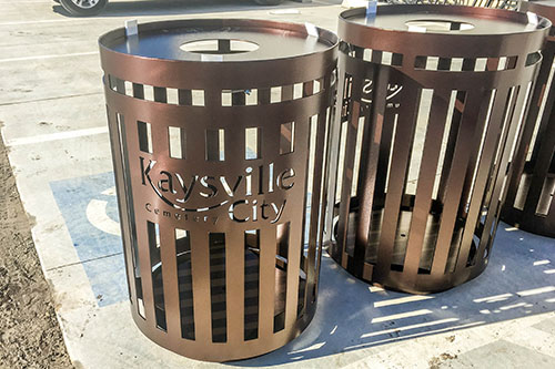 Kaysville Trash Receptacles