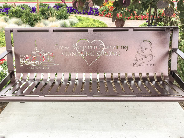 Memorial Benches For Baby Crew