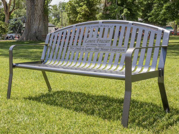 Personalized Dedication Benches