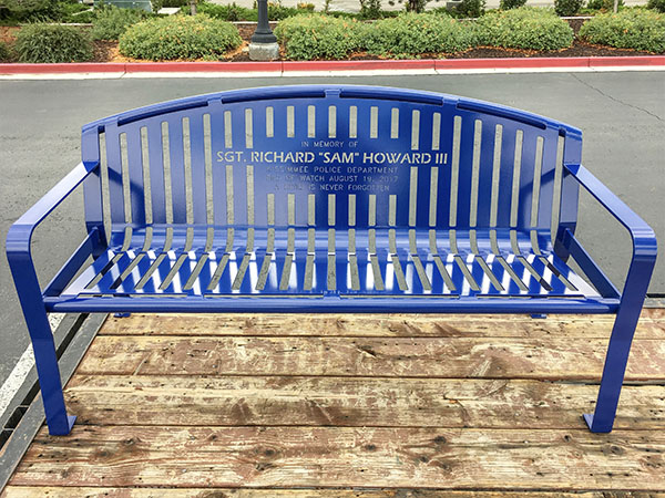Sergeant Memorial Bench