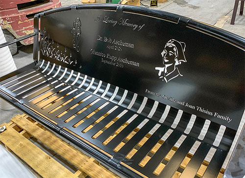 Homage Memorial Benches