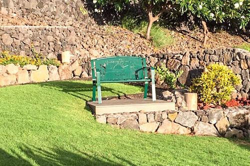 Garden Spot Memorial Benches