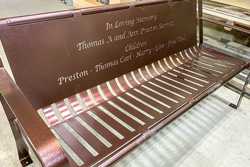Benches For Cremated Ashes