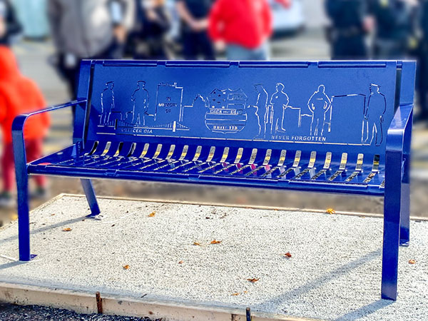 Benches With Cremation Spot