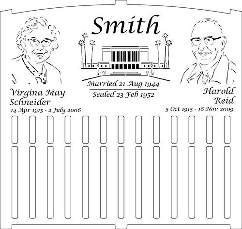 Grandparents Memorial Bench Draft