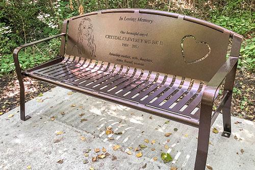 Portrait Cemetery Bench Prices