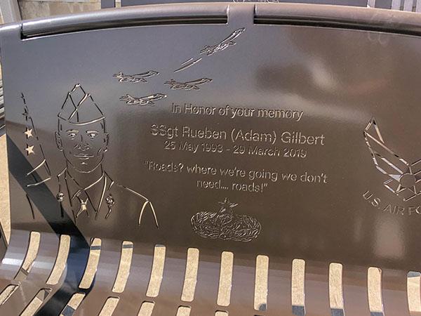 Airman Memorial Bench