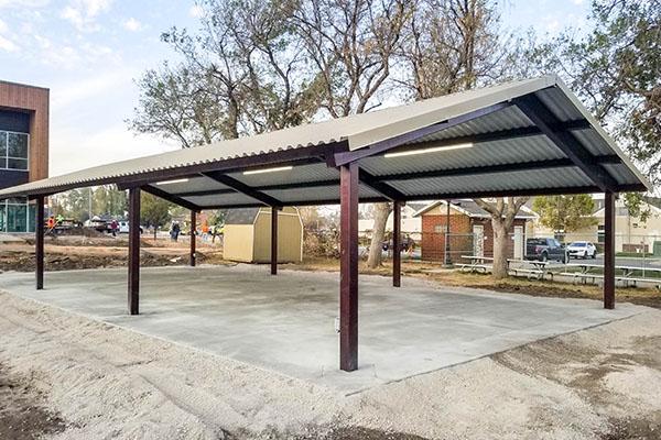 Outdoor Steel Pavilion Manufacturers