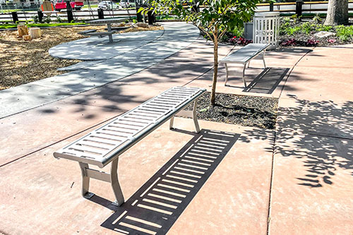 Steel Park Furniture Manufactures